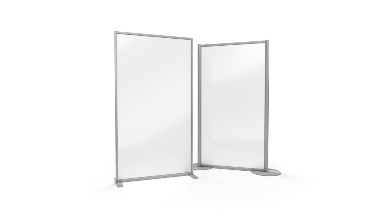 ACHOO<sup>®</sup> Frosted Perspex<sup>®</sup> Glass Freestanding Protective Screen