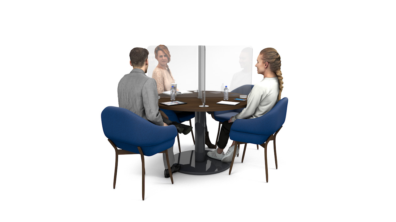 ACHOO<sup>®</sup> Crystal Clear Table Divider Screens