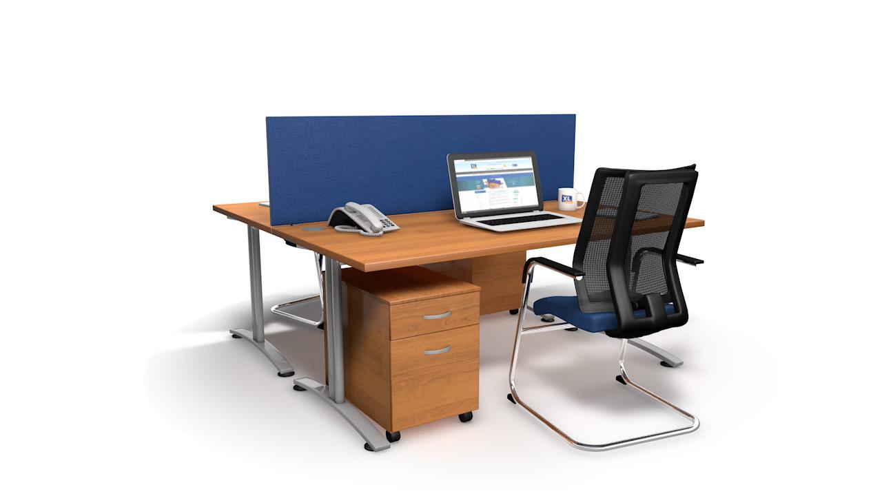 Speedy Desk Screens 1600mm Wide
