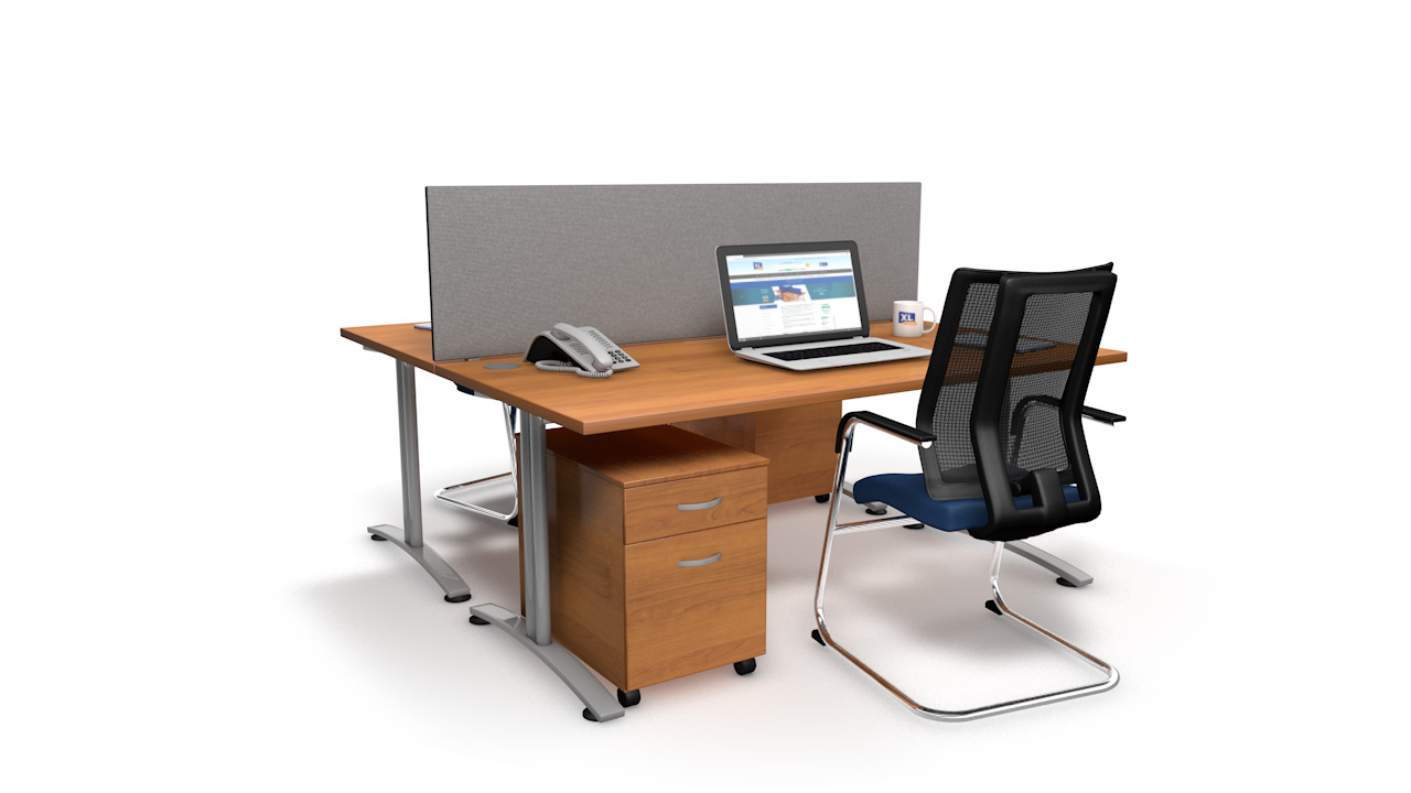 Standard Acoustic Desk Screens Straight