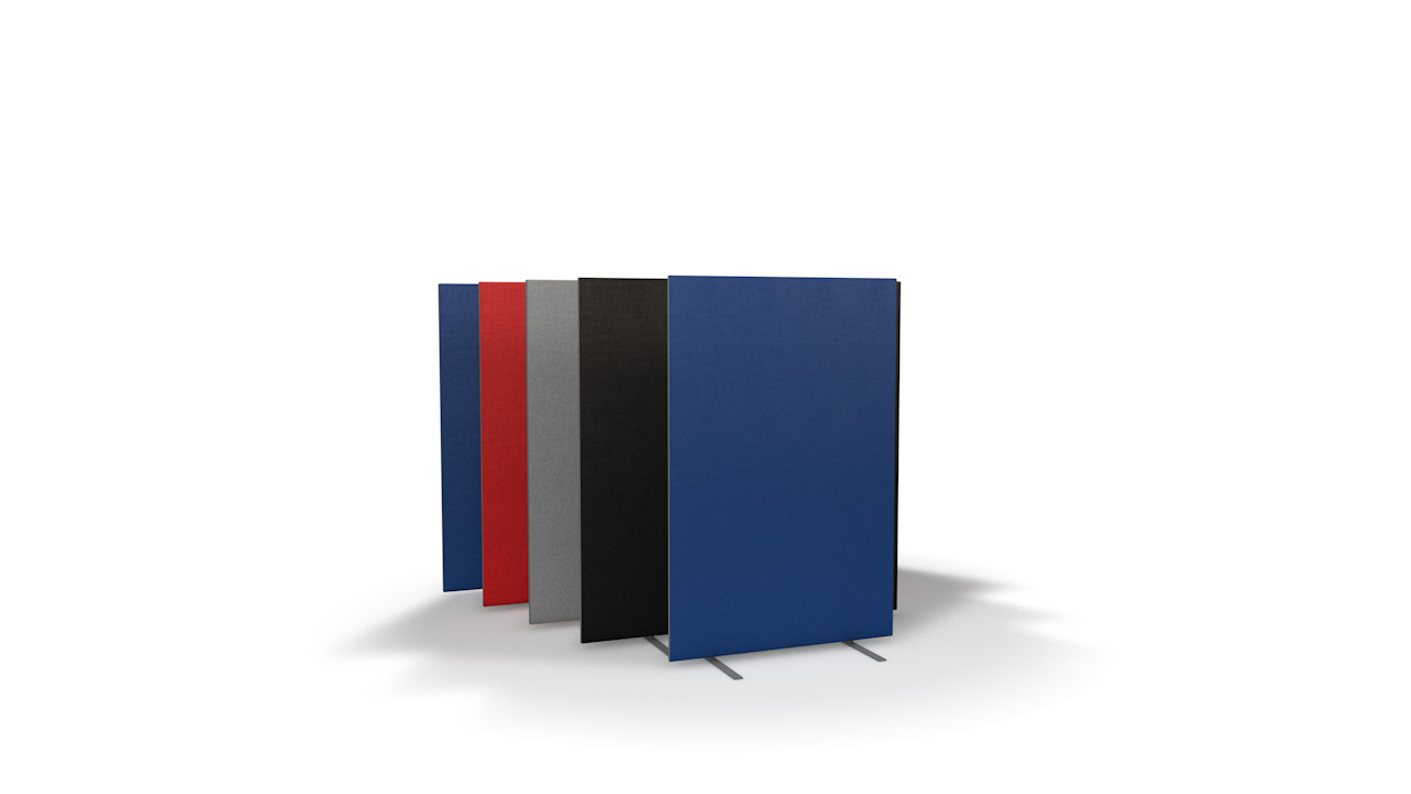 Standard Freestanding Office Partitions 1200mm High