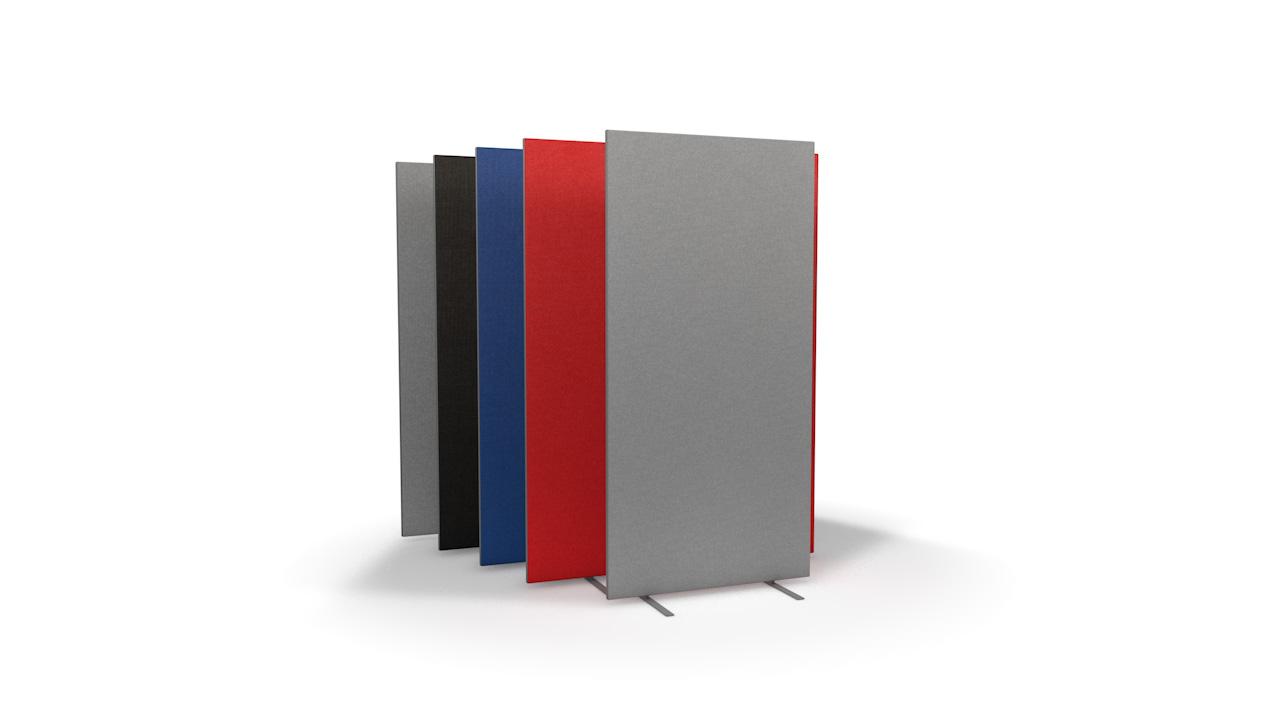 Standard Freestanding Office Partitions 1600mm High