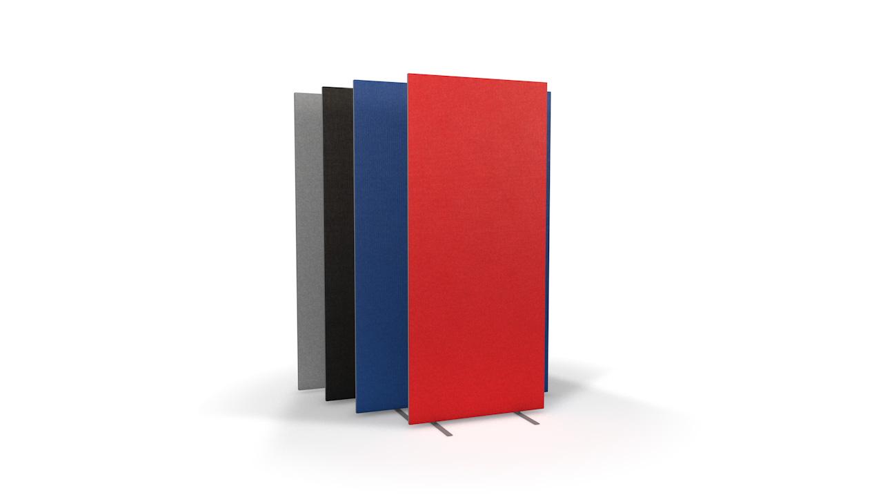 Standard Freestanding Office Partitions 1800mm High