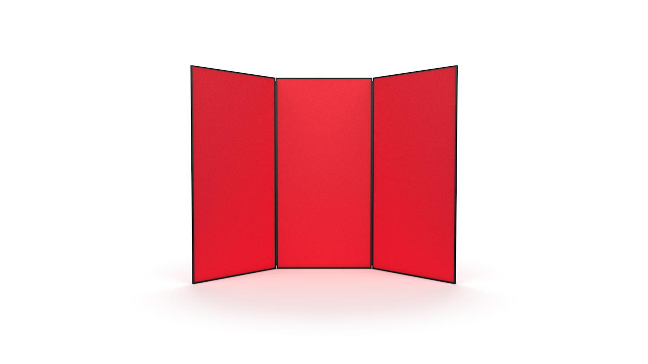3 Panel Jumbo Display Panel System PVC Frame