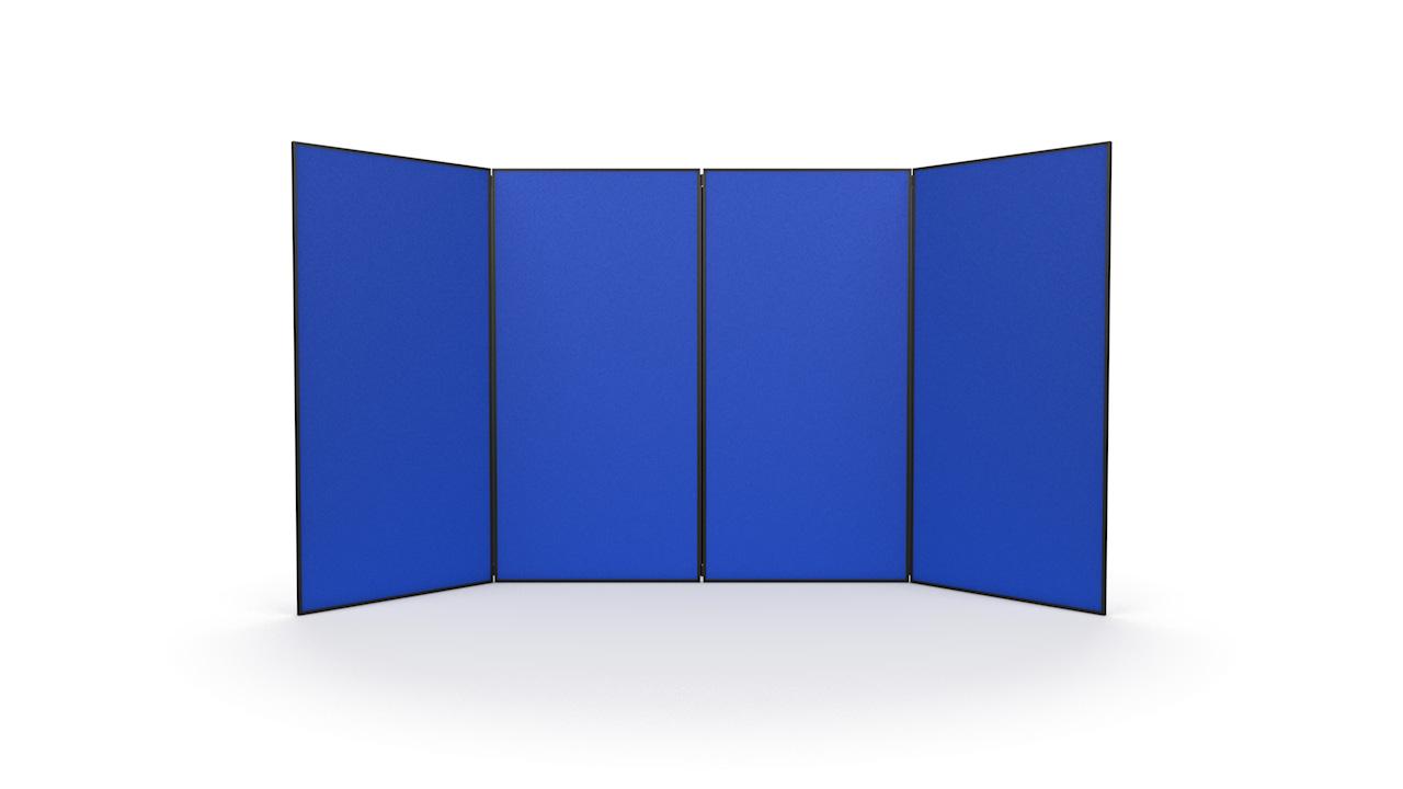 4 Panel Jumbo Display Panel System PVC Frame