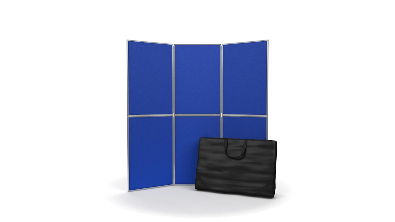 6 Panel Display Board Kit Aluminium Frame No Header