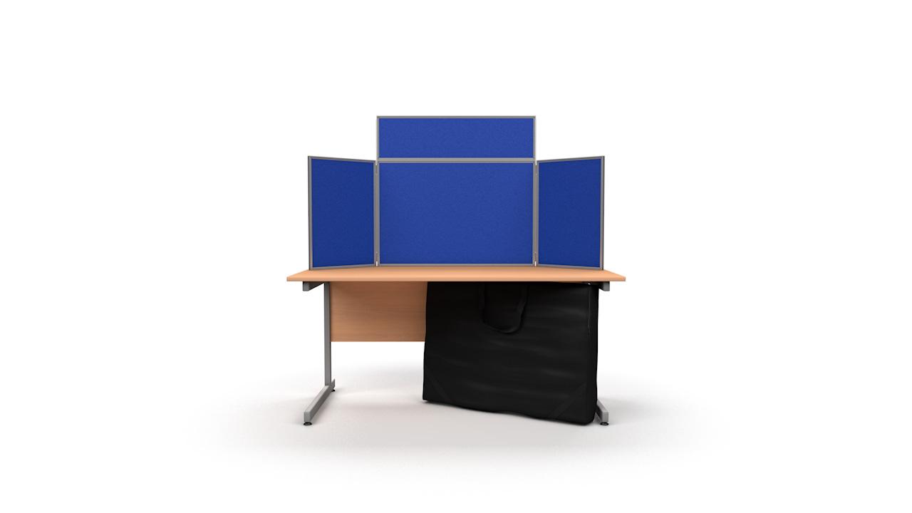 Tabletop Display Panel Kit Aluminium Frame Landscape
