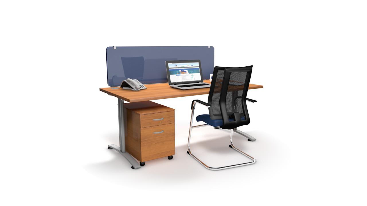 Virus Defender Acrylic Desk Screen Overlay