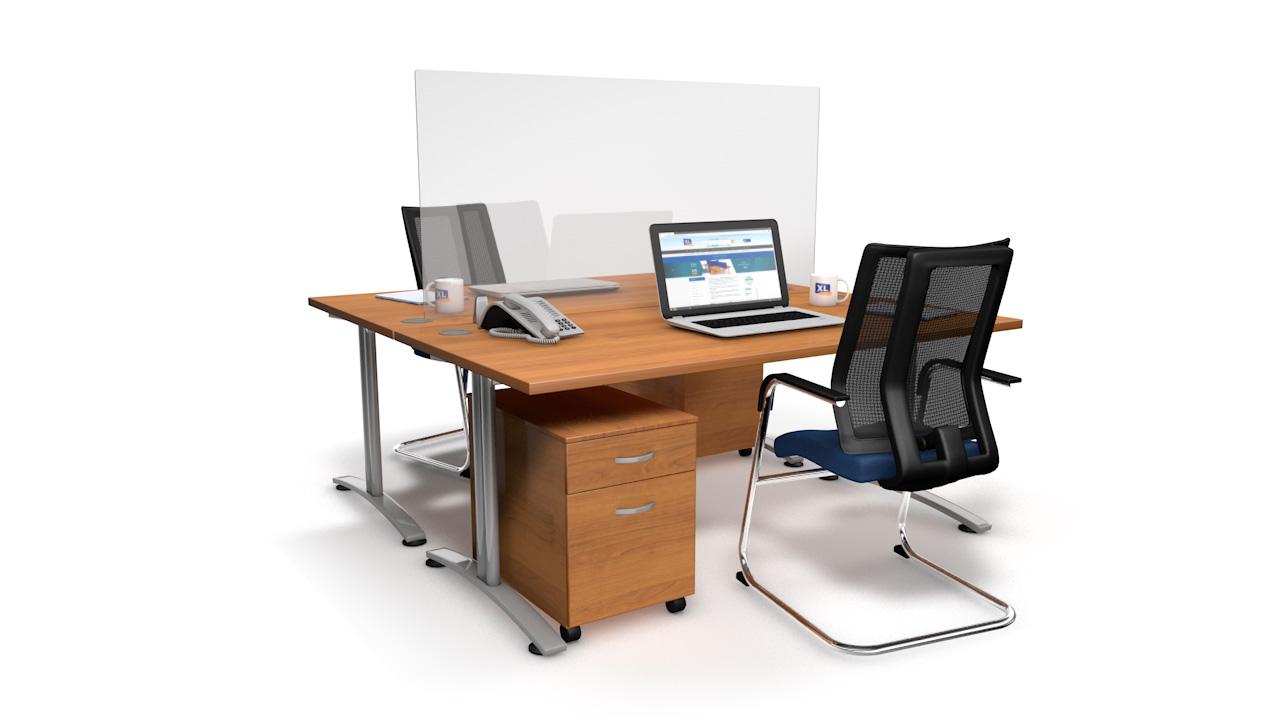 EASYFIT Perspex<sup>®</sup> Desk Screens