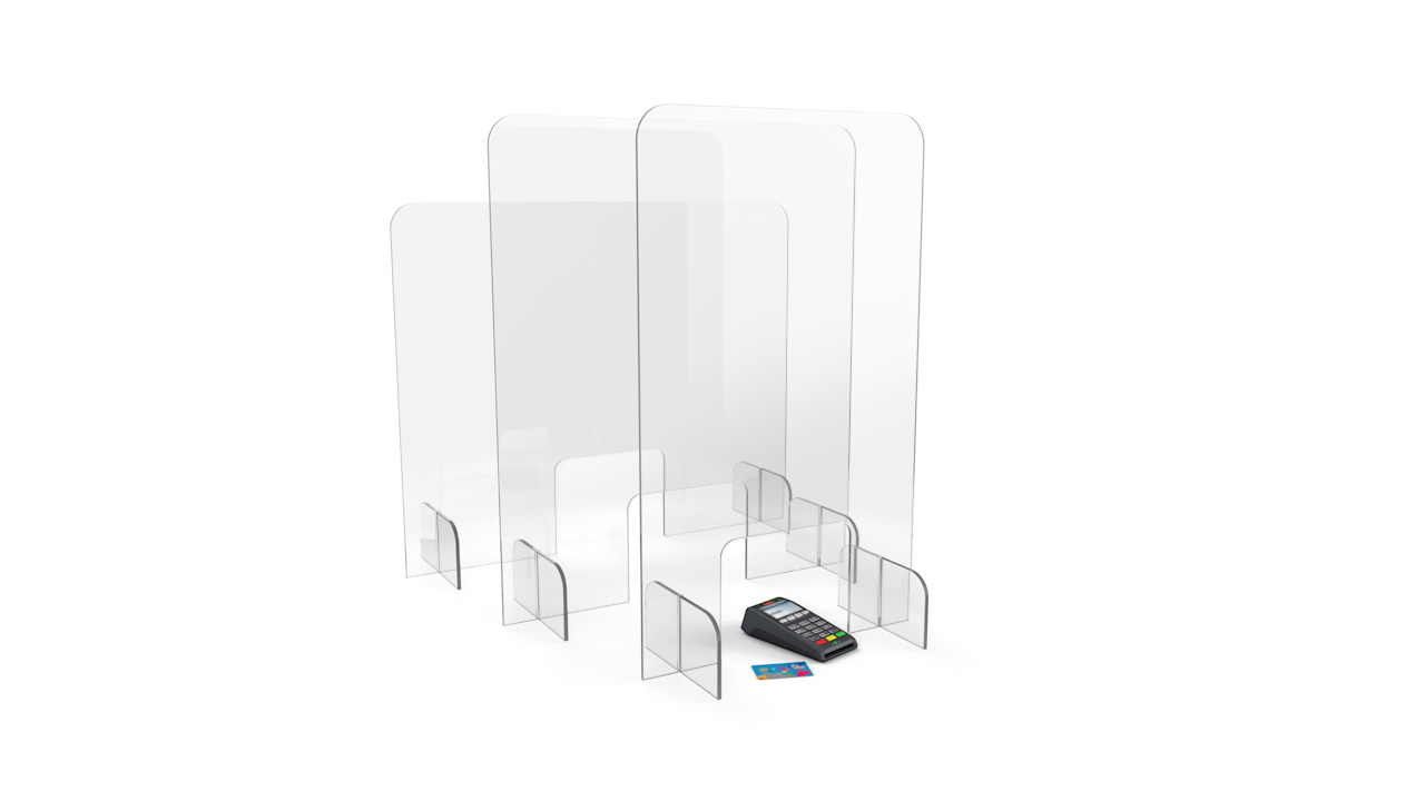 FLATPACK Budget Perspex<sup>®</sup> Protection Screen