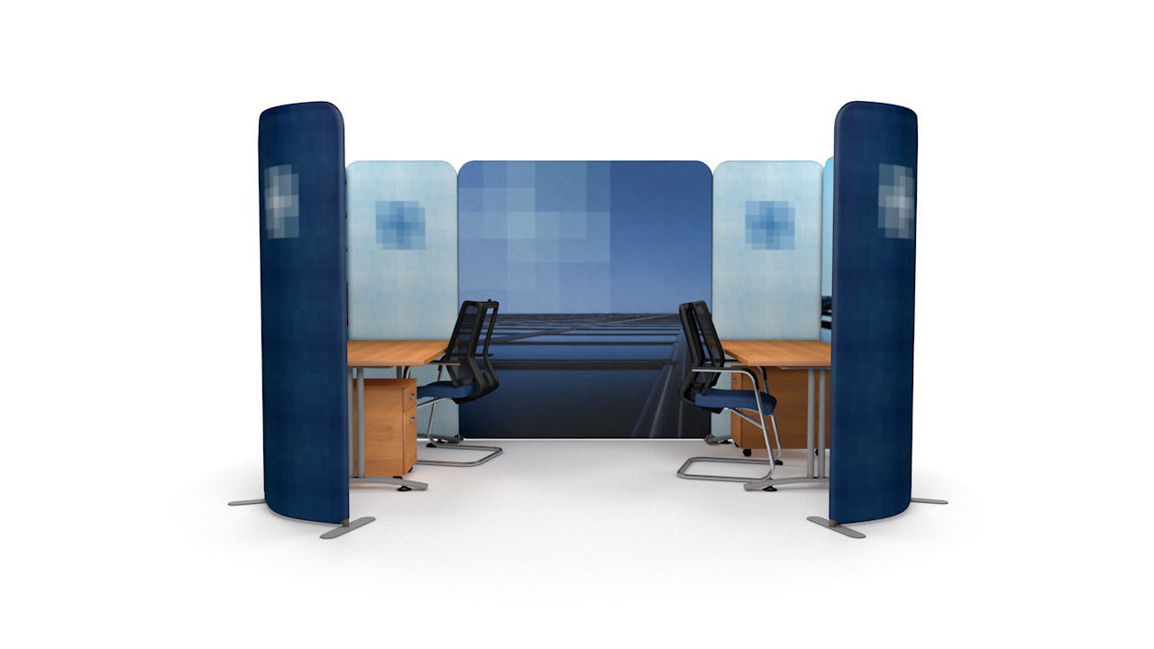 Custom Printed Office Partitions