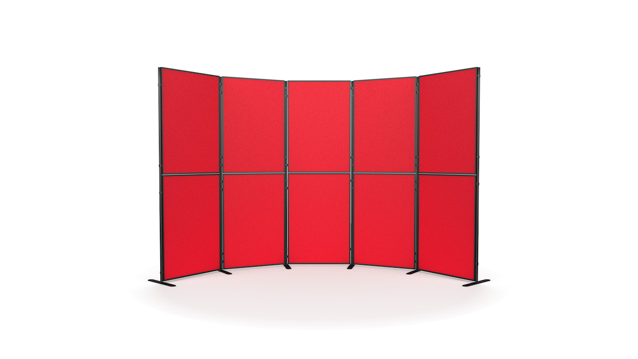 10 Panel And Pole Modular Display Board Systems