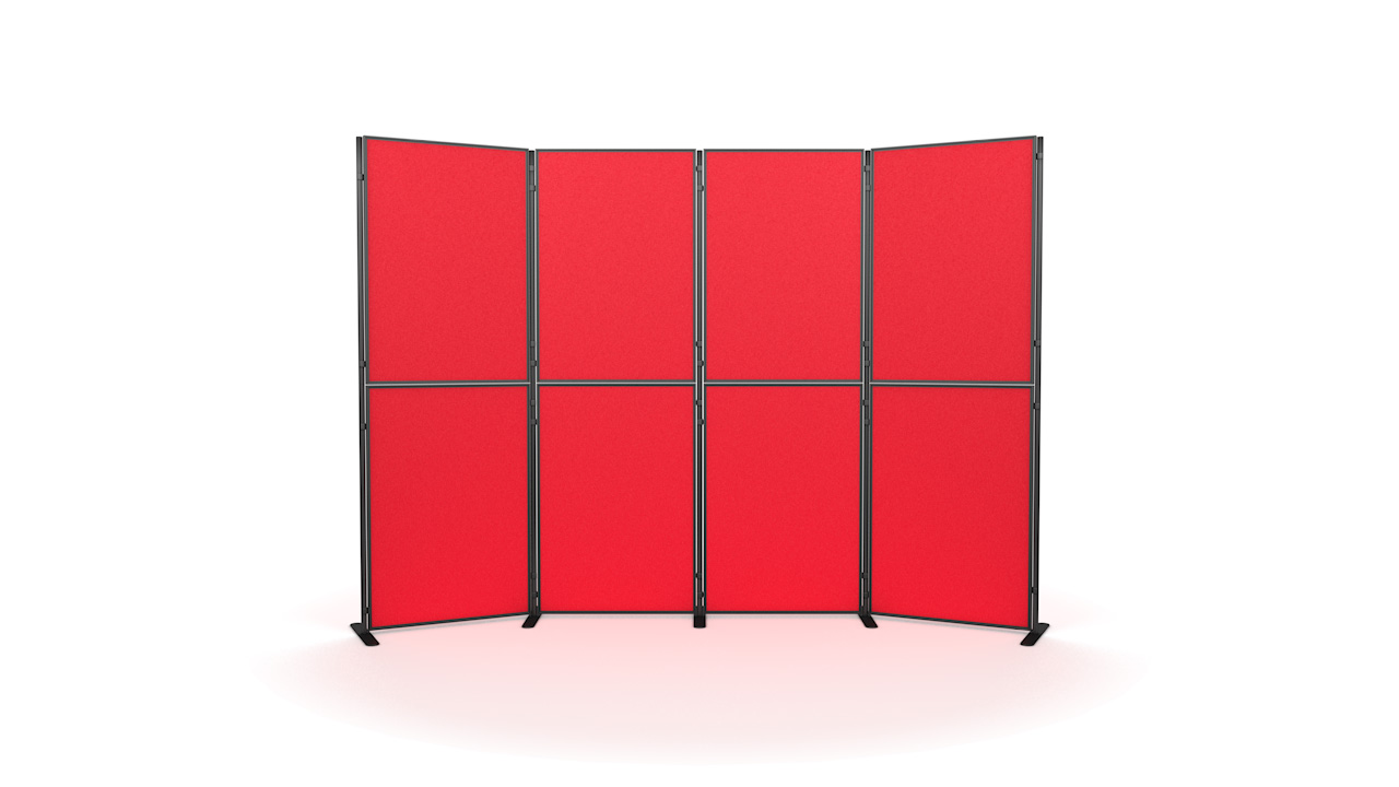 8 Panel And Pole Modular Display Board Systems