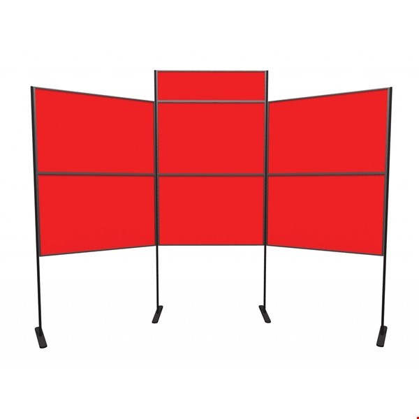 6 Panel and Pole Display Board with Header