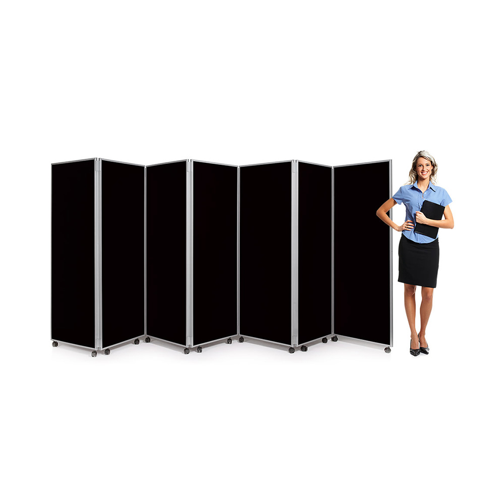 7 Panel Folding Concertina Partition Screens 1800mm High