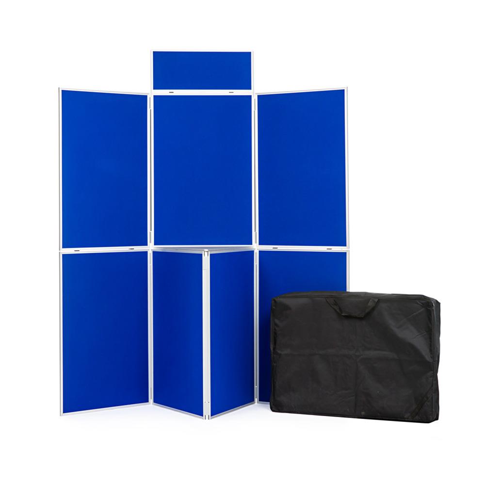 7 Panel Aluminium Presentation Kit with Shelf and Bag