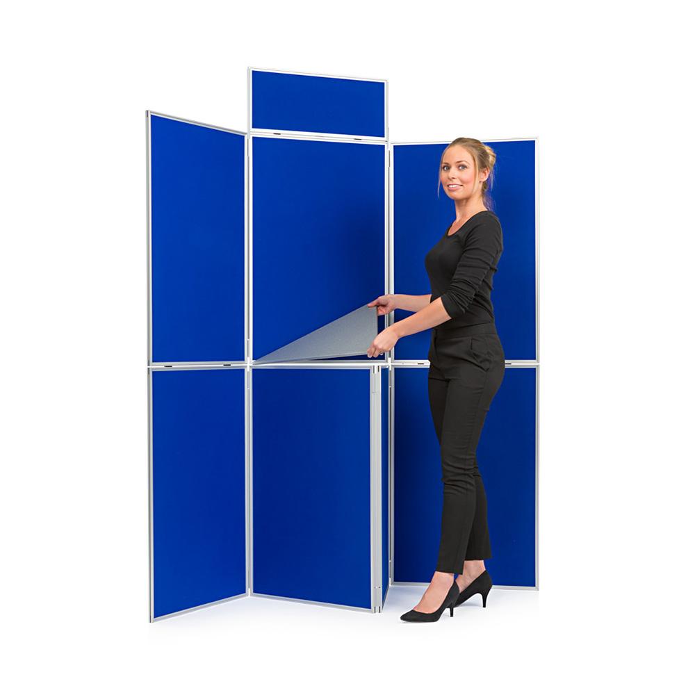 7 Panel Display Board Kit comes with Additional Shelving