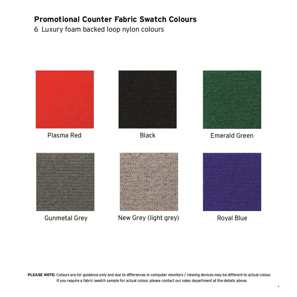 Fabric Display Panel Colour options