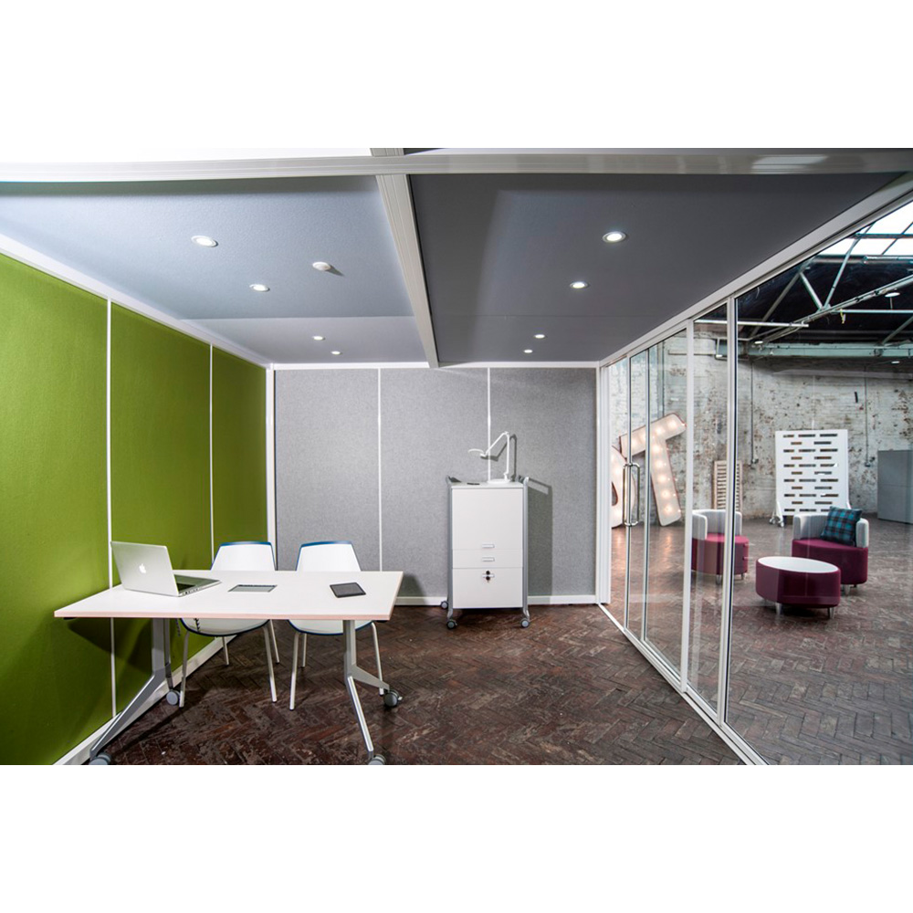 Fabric Walls Available in 12 Colours