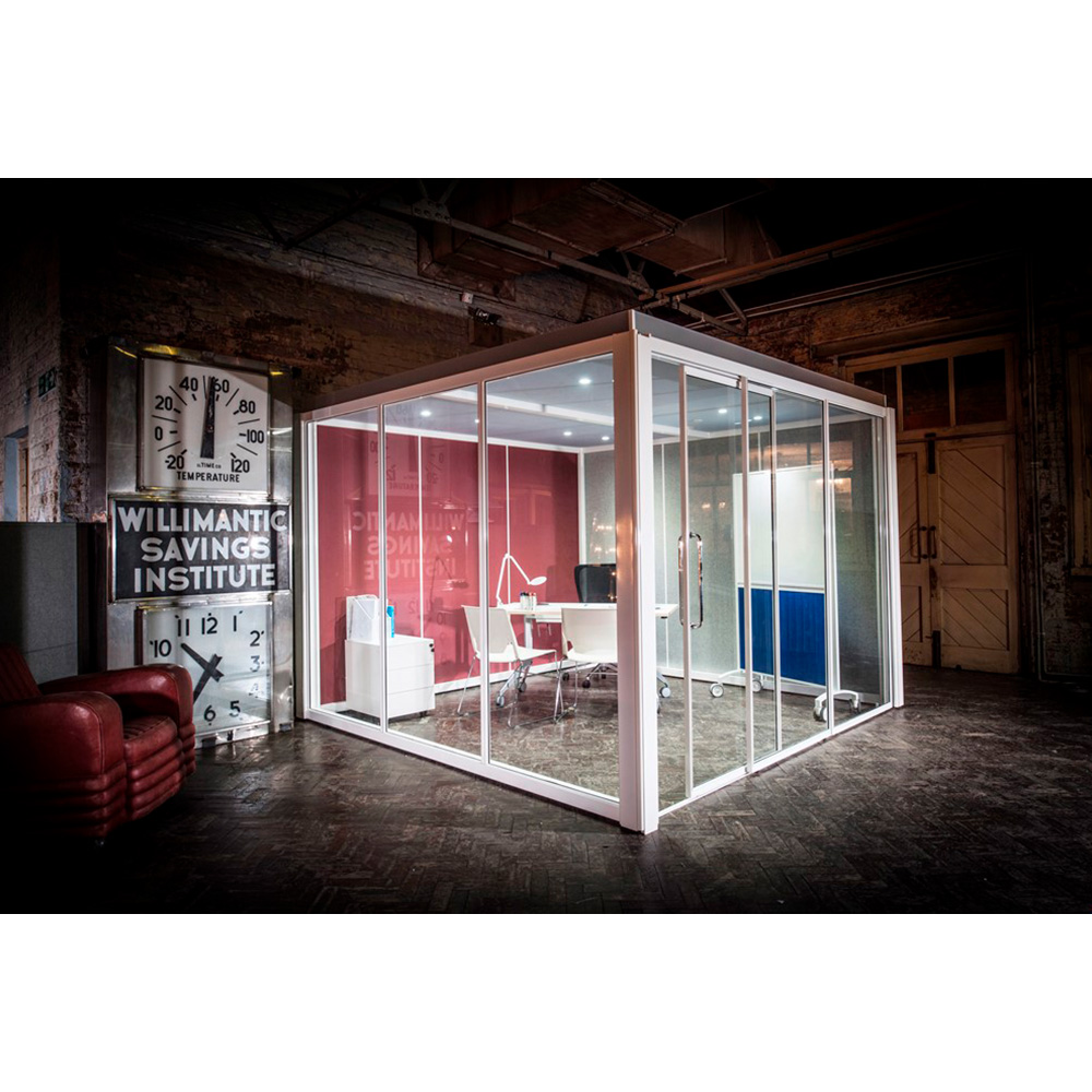 Freestanding Glazed Meeting Space for Open Plan Offices