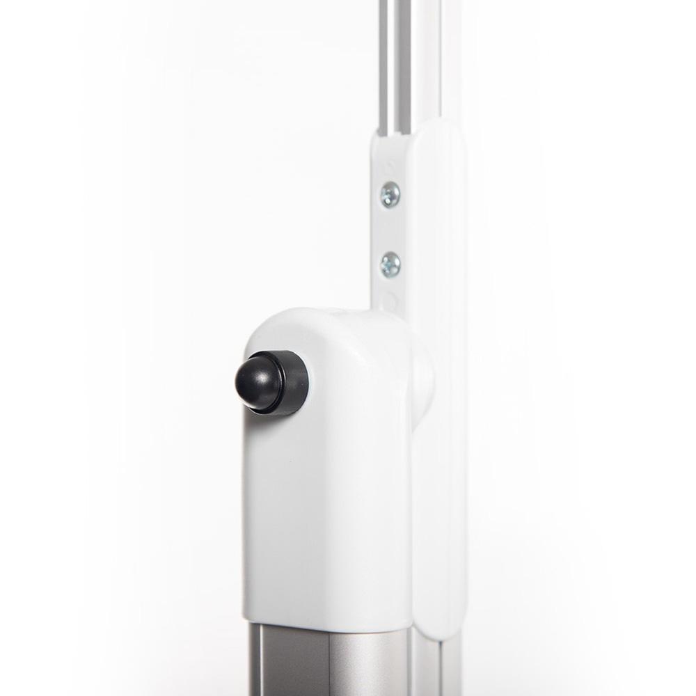 Portable Whiteboard Swivel Hinge Close Up