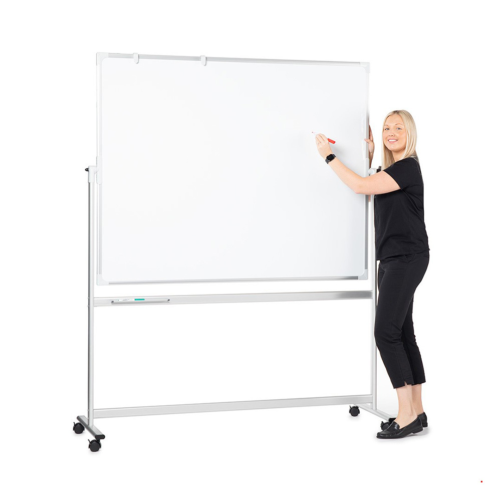 Mobile Magnetic Writing Board on Wheels