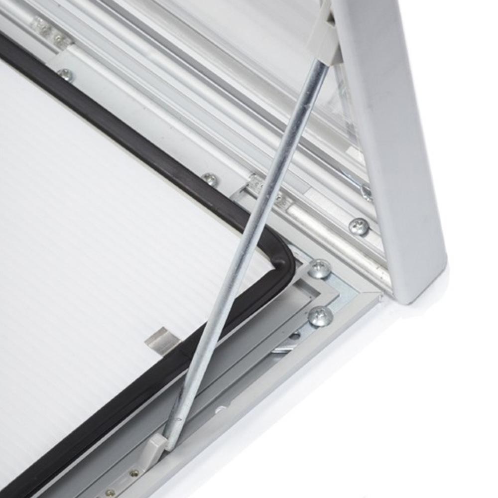 External Lockable Notice Board Wall Mounted Hunge Mechanism